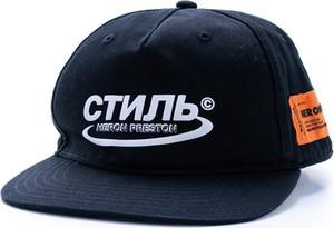 Czarna czapka Heron Preston