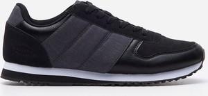 House - Sneakersy z łączonych materiałów - Czarny