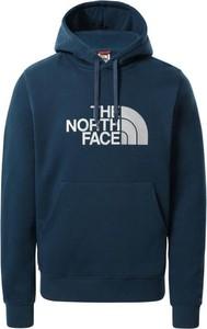 Niebieska bluza The North Face z bawełny w sportowym stylu