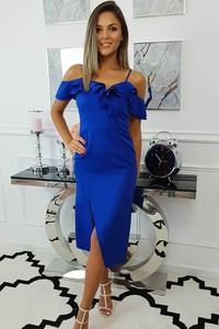 Niebieska sukienka fashion-freak.pl