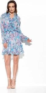 Sukienka Lemoniade mini z długim rękawem z jedwabiu