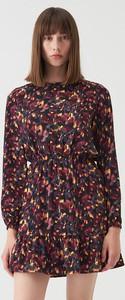 Sukienka Sinsay mini z długim rękawem