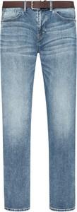 Niebieskie jeansy S.Oliver w street stylu z bawełny