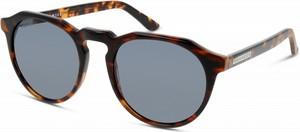 Brązowe okulary damskie Hawkers