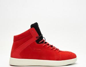 Cropp - Wysokie sneakersy Internal - Czerwony