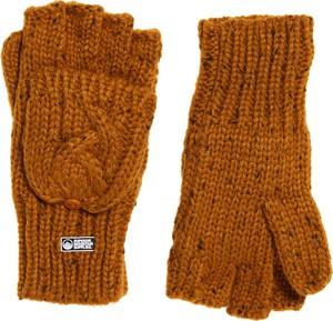 Pomarańczowe rękawiczki Superdry