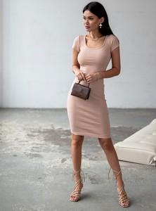 Sukienka SELFIEROOM dopasowana z bawełny