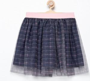 Granatowa spódniczka dziewczęca Reserved z tiulu