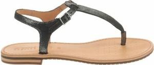 Sandały Geox w stylu casual z płaską podeszwą z klamrami