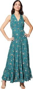 Sukienka Aller Simplement maxi z dekoltem w kształcie litery v bez rękawów