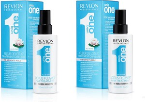 Revlon Uniq One Lotus - kuracja do włosów 10 w 1 150ml x2 - Wysyłka w 24H!