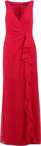 Czerwona sukienka POLO RALPH LAUREN maxi