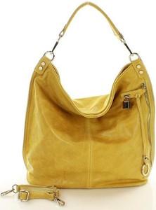 Żółta torebka Merg w wakacyjnym stylu