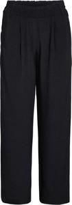 Czarne spodnie khujo z szyfonu