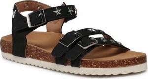Czarne buty dziecięce letnie Nelli Blu