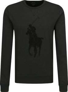 Czarna bluza POLO RALPH LAUREN z wełny