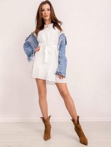 Sukienka Sheandher.pl z długim rękawem mini w stylu casual