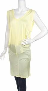Żółta tunika Patrizia Pepe w stylu casual