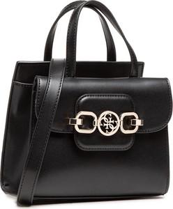 Czarna torebka Guess średnia matowa do ręki