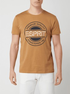 T-shirt Esprit z krótkim rękawem w młodzieżowym stylu