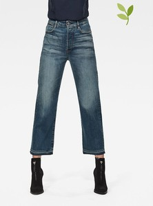 Niebieskie jeansy G-star w stylu casual z bawełny
