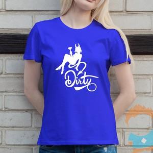 T-shirt Koszulkowy z bawełny z okrągłym dekoltem