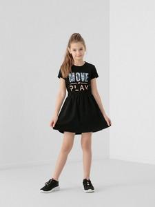 Czarna spódniczka dziewczęca 4F