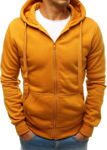 Pomarańczowa bluza Dstreet z dresówki