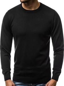 Czarny sweter BRUNO LEONI w stylu casual