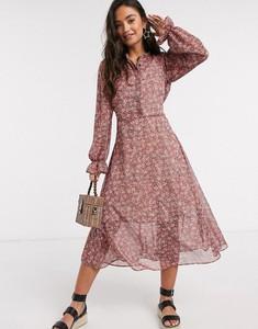 Sukienka New Look z szyfonu szmizjerka