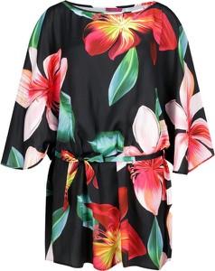 Sukienka Liu Jo Beachwear midi z okrągłym dekoltem w stylu casual