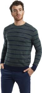 Sweter La Martina w stylu casual z wełny z okrągłym dekoltem