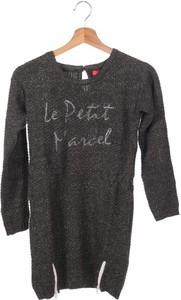 Czarna sukienka dziewczęca Le Petit Marcel