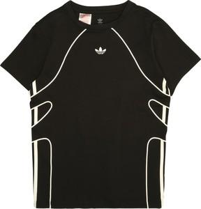 Czarna koszulka dziecięca Adidas Originals