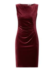 Czerwona sukienka Christian Berg Cocktail bez rękawów mini