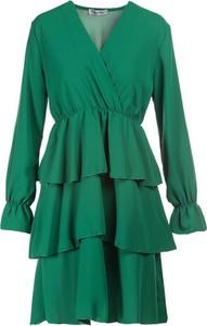 Zielona sukienka Multu