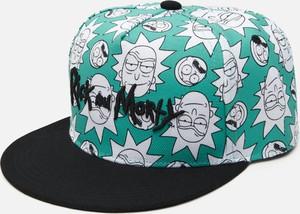 Niebieska czapka Cropp