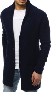 Czarny sweter Dstreet z tkaniny