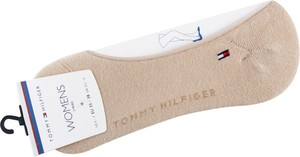 Różowe skarpetki Tommy Hilfiger w stylu casual