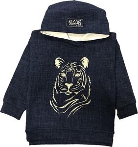 Granatowa bluza dziecięca Ewa Collection dla chłopców