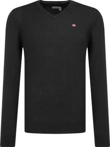 Czarny sweter Napapijri z wełny