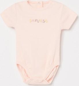 Różowe body niemowlęce Reserved
