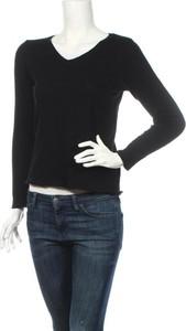 Bluzka American Vintage w stylu casual z okrągłym dekoltem z długim rękawem