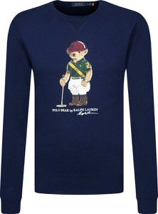 Bluza POLO RALPH LAUREN w młodzieżowym stylu z nadrukiem