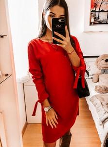 Sukienka Pakuten z bawełny w stylu casual mini