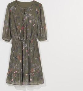 Zielona sukienka Mohito mini