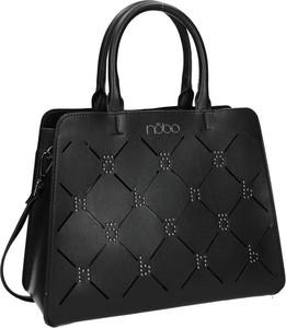 Czarna torebka NOBO na ramię ze skóry ekologicznej