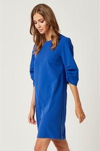 Niebieska sukienka Scui w stylu casual