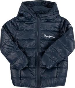Granatowa kurtka dziecięca Pepe Jeans