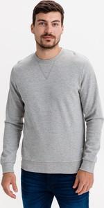 Sweter Jack & Jones w stylu casual z bawełny z okrągłym dekoltem